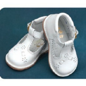 Angels Garment White T Strap Easter Baby Toddler Girl Shoe 3-9.5