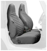Bestop® Front Seat Covers - High Bucket - Jeep 97-02 Wrangler; Sold as pair; Fit factory seats