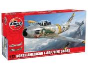 North American F-86F/E(M) Sabre - 1:72 Scale - A03082 - Airfix
