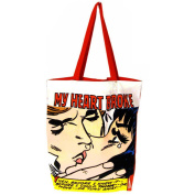 Marvel My Heart Broke Tote Bag