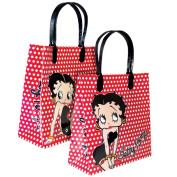 Large Betty Boop Polka Dot Gift Bag