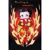 Betty Boop Fridge Magnet Brand New Bad Girl In Devil Dress