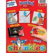 Shrinkles CLASSROOM PACK - Frosted - Shrink Art