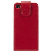 Flip Case for iPhone 4/4S - Red