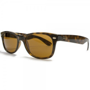 Ray-Ban - RB2132 (New Wayfarer) - Tortoise Frame-Crystal Brown 52mm Lenses
