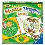 Horses - 2 In 1 Mandala Designer - Ravensburger