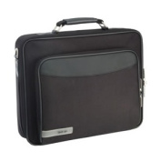 Tech Air Z0101V3 15 6 INCH Black Briefcase with Shoulder Strap and Front Accessories Pocket