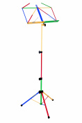 Kinsman Deluxe Music Stand and Bag, Multicolour