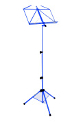 Kinsman Deluxe Music Stand and Bag, Blue