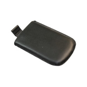 Black Medium Slip Pouch Protective Case with Pull Tab