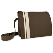 SPEEDLINK Courier 16.4 inch Messenger Bag, Brown/Beige