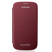 Samsung Galaxy S3 Official Flip Case - Garnet Red