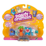Four Figure Pack - Party Animals