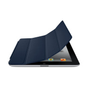 Apple Leather Smart Cover for iPad 2 Navy