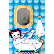 Betty Boop Bubble Bath Card