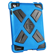 G-FORM Extreme iPad Clip On Case, Blue Case/Black RPT