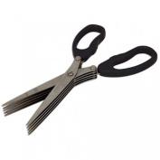5 Blade Security / Kitchen Shredding Scissors