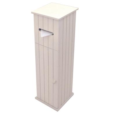 American Cottage Toilet Roll Holder Storage Cupboard