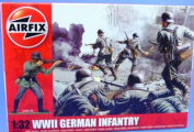 WWII German Infantry 1:32 Scale - A02702 - Airfix