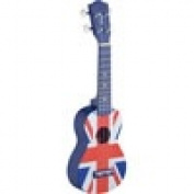 Soprano Ukulele UK Flag with Bag