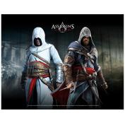 ASSASSINS CREED Wallscroll Altair Ezio In Blackroom GE2013