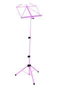 Kinsman Deluxe Music Stand and Bag, Pink
