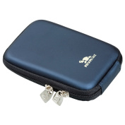 Rivacase Riva 7062 PU Digital Camera Case, Dark Blue
