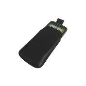 Black Slip Pouch Protective Case with Pull Tab. HTC Desire