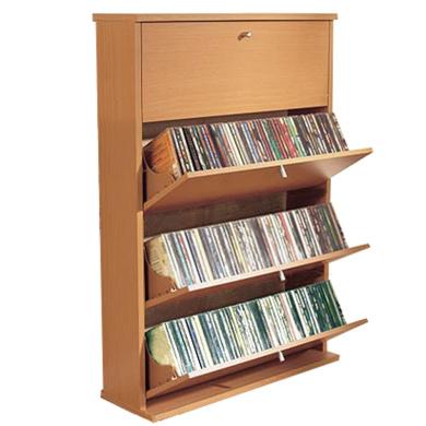 CD 200. Media Storage Cupboard. Beech. - Shop Online for Stationery in Australia