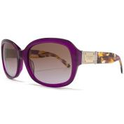 Dolce & Gabbana Sunglasses Classic Square Violet Brown.
