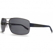 Boss Black Sunglasses Metal Square in Dark Ruthenium.