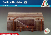 Dock With Stairs - 1:35 Scale - 5615 - Italeri