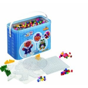Hama - Maxi Beads And Pegboards in Bucket - 3000 - DKL