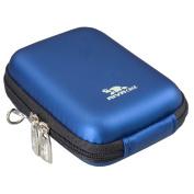Rivacase Riva 7023 PU Digital Camera Case, Light Blue