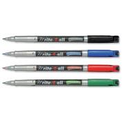 Stabilo Write-4-all Permanent Marker Pen Waterproof, 0.7mm Line - Assorted