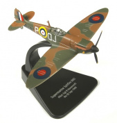 oxford supermarine spitfire MKI pilot sgt R havercroft NO 92 1940 aircraft 1.72 scale diecast model