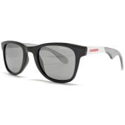 Carrera Sunglasses 6000 Wayfarer Style in Black White Stripe