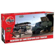 Airfix - Bedford QLT And Bedford QLD Trucks - Scale 1:76 A03306