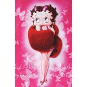 Betty Boop Winter Wrap Card