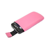 Pink Slip Pouch Protective Case with Pull Tab. Sony Ericsson W995