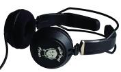 MotorHeadphones Bomber Headphones - Black