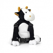 Goldbug Cow Baby Backpack with Baby Reins