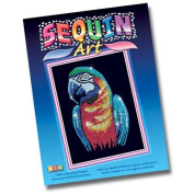 KSG Sequin Art Parrot
