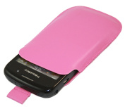 Pink Slip Pouch Protective Case with Pull Tab - BlackBerry 8520 Curve, 9300 3G, 9700 Bold, 9780 Onyx