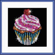 Sequin Art Focus Cupcake Boxed