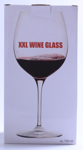 Giant Wine Glass Holds A Whole Bottle Of Wine Brand