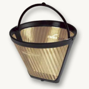 SwissGold 2-6 cup reusable cone shape coffee filter KF2
