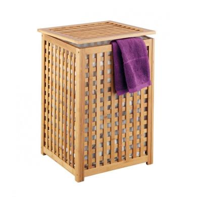Kitchen Zeller  Laundry Basket x cm Bamboo