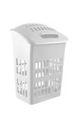 Thumbs Up White Laundry Basket White