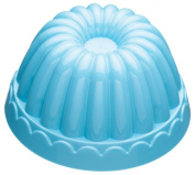 Kitchen Craft Miniamo Brights Plastic Round Fluted Jelly Mould 600ml